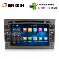 "Erisin ES4860PG 7"" Android 9.0 voiture stéréo 4G DAB + GPS DVR SWC pour Vauxhall Opel Corsa Zafira Astra Signum Meriva"