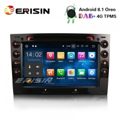 "Erisin ES3813M 7"" Android 8.1 Car Stereo GPS DAB+DVR Bluetooth CD 4G OBD DTV Satnav for RENAULT MEGANE"