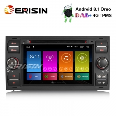 "Erisin ES2831FB 7"" DAB+ Android 8.1 Autoradio GPS Bluetooth Ford C/S-Max Focus Kuga Transit Galaxy"