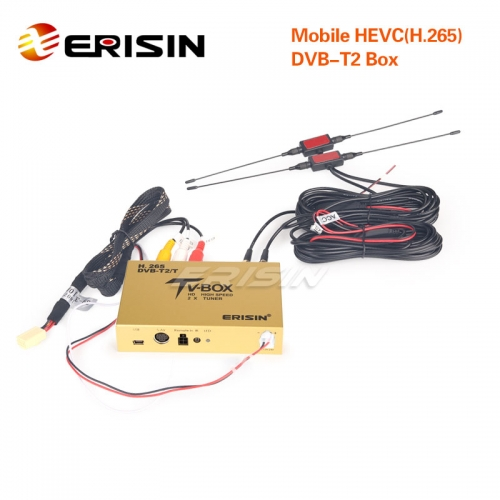 Erisin ES338-KD Touch Screen Control Car Mobile Digitale HDTV DVB-T2 Receiver