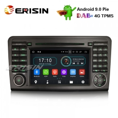 "Erisin ES4961L 7"" Android 9.0 Autoradio for Mercedes Benz ML/GL Class W164 X164 DAB+ Navi TNT Wifi"