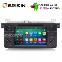 "Erisin ES7962B 7"" Android 9.0 Stéréo de voiture GPS DAB + CD Bluetooth DTV DVR SD BMW E46 M3 Rover75 MG ZT"