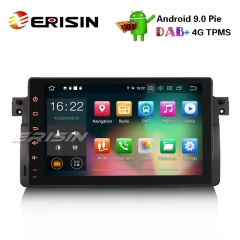 "Erisin ES7903B-64 9"" Android 9.0 Voiture Stéréo GPS Wifi 4G DVR DAB + OBD BMW 3er E46 M3 Rover75 MG ZT"