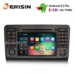 "Erisin ES7983L 7"" 8-Core Android 9.0 GPS DAB+ Car Stereo CD DVR BT Mercedes ML/GL Klasse W164 X164"