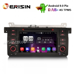 "Erisin ES7746B 7"" 8-Core Android 9.0 BMW E46 318 320 325 M3 Rover75 MG ZT Stéréo de voiture GPS DAB + CD DVD BT"