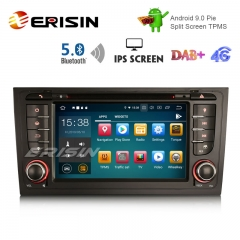 "Erisin ES8006A 7"" DAB+ IPS Android 9.0 Car GPS OBD WIFI DVD BT5.0 for AUDI A6 S6 RS6 allroad"