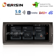 "Erisin ES1253B 10.25"" Nouveau Android 9.0 Pie OS Car GPS Sat 4G TPMS DAB + BT5.0 CarPlay pour E53"