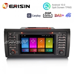 "Erisin ES3153B 7"" DAB+ Android 10.0 Car Stereo Radio GPS DSP WiFi CarPlay for BMW 5er E39 E53 X5 M5"