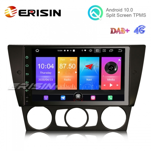 "Erisin ES2730B 9"" New Android 10.0 OS Car GPS Sat 4G TPMS DAB+ CarPlay+ for BMW E90 Saloon E91"