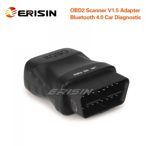 Erisin ES357 Super Mini Car Bluetooth 4.0 OBD2 Scanner for iOS, Android and Windows