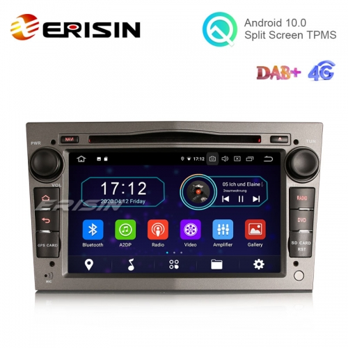 "Erisin ES6960PG 7"" Android 10.0 Car DVD RDS BT GPS 4G WiFi DAB+ Radio for Opel Combo Meriva Signum Astra"