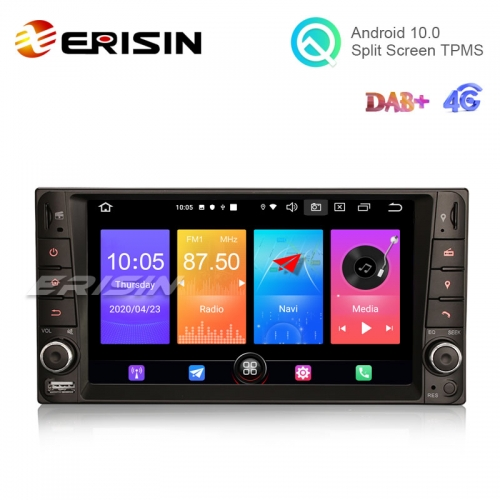 "Erisin ES2712C 7"" Android 10.0 Car Multimedia for Toyota Corolla GPS Radio BT WiFi TPMS DVR System"