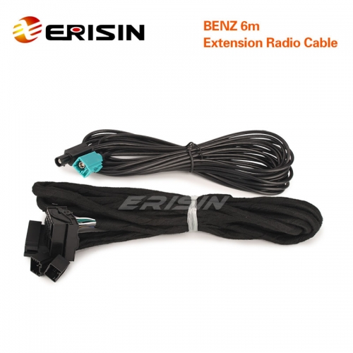 Erisin BZ6M 6M extension harness Fits for BENZ E/G/CL/CLS/S Class w211 w463 w219 w215 w220